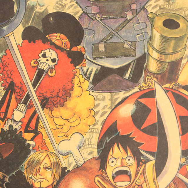 One Piece Film: Z Retro Style Wall Poster
