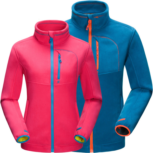 2017 High Quality Outdoors Hiking Fleece Jacket Men Thicked Polar Fleece Jacket Thermal Sports Winter Coats For Camping RM109