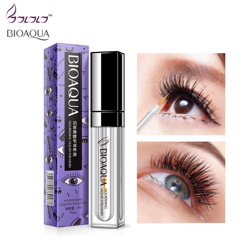 BIOAQUA Eyelash Growth Treatments Makeup Eyelash Enhancer 7 Days Longer Thicker Eyelashes Eyes Care Eyelash Enhancer