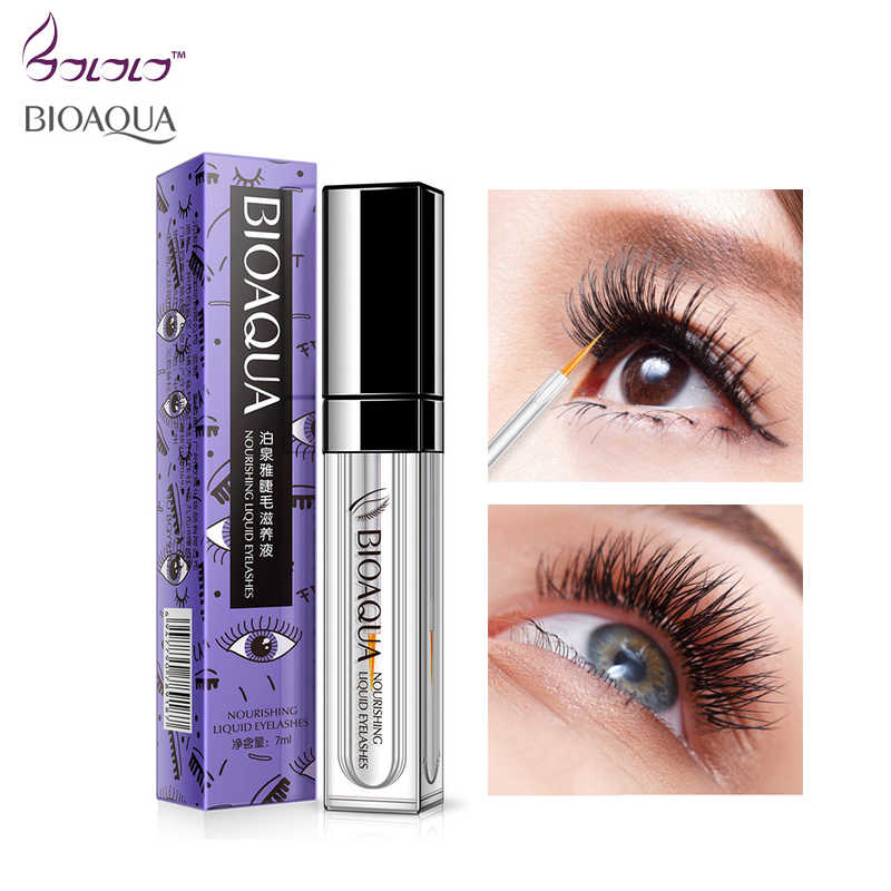 91177315527 BIOAQUA eyelash growth treatments makeup eyelash enhancer 7 days longer thicker  eyelashes eyes care eyelash enhancer