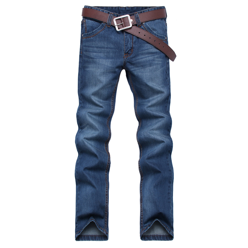 XT1117 Spring 2017 new straight young middle-aged big size slacks leisure fashion men jeans cheap wholesale free shipping men s young men s jeans wholesale price