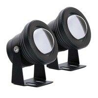 30W LED Daytime Running Light DRL High Beam Light 6000K 3 Pattern Strobe Flashing Warning Waterproof