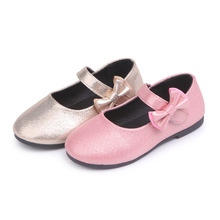 Kids Leather Shoes 2018 New Casual Shoes For Girls Fashion