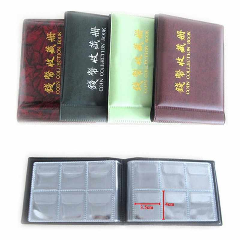 2018 new arrival 60 Coin Collection Holders Collecting Coin Album Holders Album Book