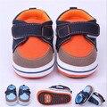 Fashion Hard Rubber Sole Baby Shoes Antislip Infants Boys First Walkers Sports Baby Kids Prewalker Outdoor Shoes Sneaker