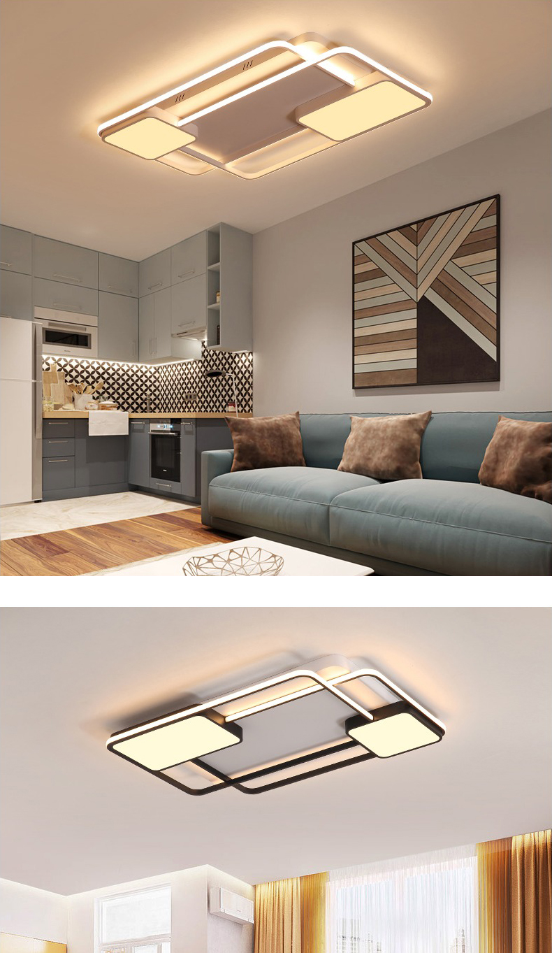 Bedroom Living room Ceiling Lights Lamp Modern lustre de plafond moderne Dimming Acrylic Modern LED Ceiling lamp for bedroom