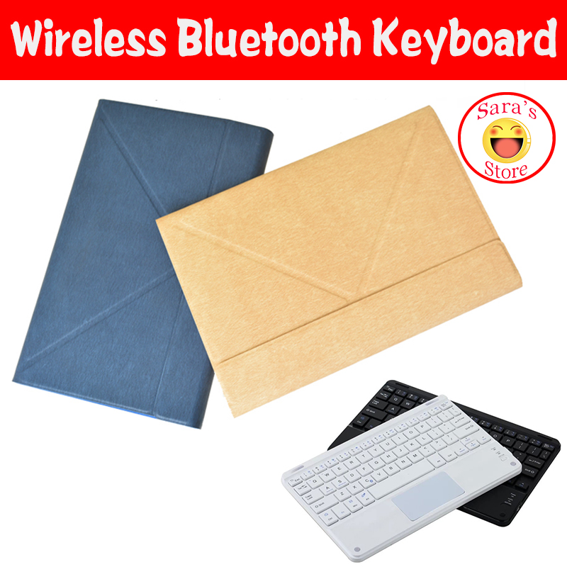 Tablets & E-books Case 10.1 Local Language Wireless Bluetooth Keyboard Protective Case For Huawei Mediapad M5 Lite 10 Bah2-w19/l09/w09 Pc And 4 Gifts
