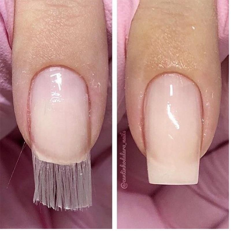 US $1 39 30% OFF|1 Pack Professional Fiberglass Nail Extension Glass Fiber  for Nail Silk Extension Nail Form Acrylic Tips Nail Salon-in Nail Art
