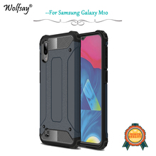 цена на For Samsung Galaxy M10 Case Shockproof Armor Rubber Hard Back Phone Case For Samsung Galaxy M10 Cover For Samsung M10 Fundas