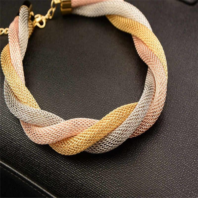 Gute Qualität Rosa Two tone farbe Äthiopischen Nigerianischen Indische Dubai schmuck-set afrikanische perlen schmuck-set arabisch gold schmuck