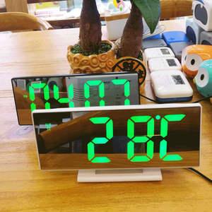 Alarm-Clock Night-Table Digital Display Desktop Time Multifunction Despertador LED