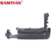SAMTIAN Battery Grip Holder Work with LP-E6 Battery or 6 Items AA Batteries for Canon EOS 60D DSLR Digicam With Distant Management