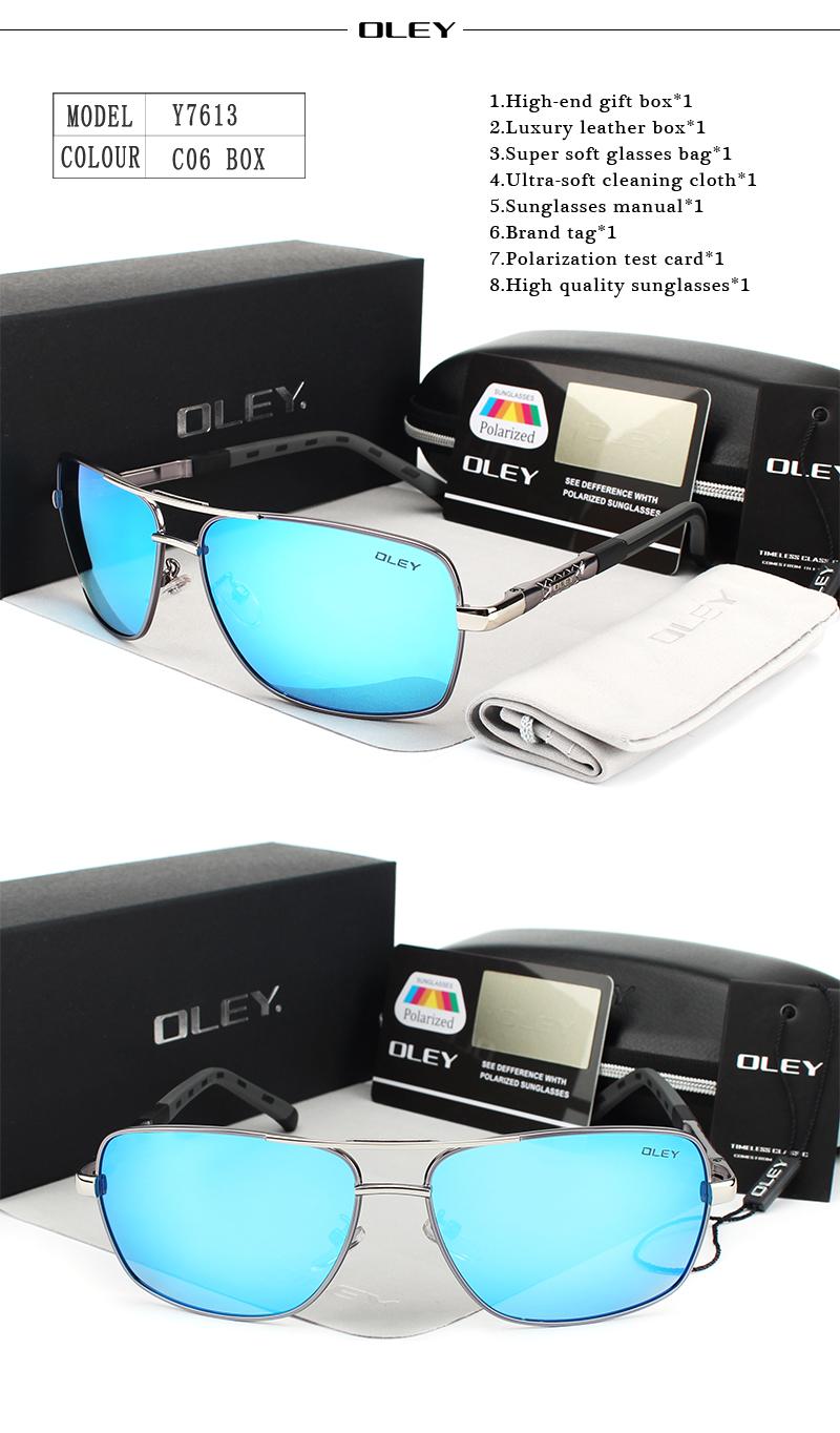 HTB1RObqRFXXXXcEXXXXq6xXFXXXh - OLEY Brand Polarized Sunglasses Men New Fashion Eyes Protect Sun Glasses With Accessories Unisex driving goggles oculos de sol