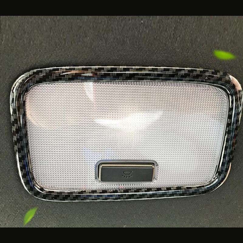 2017-2018 for Hyundai Kona Silver Accessories Rear Reading Light Cover Trim 1PCS