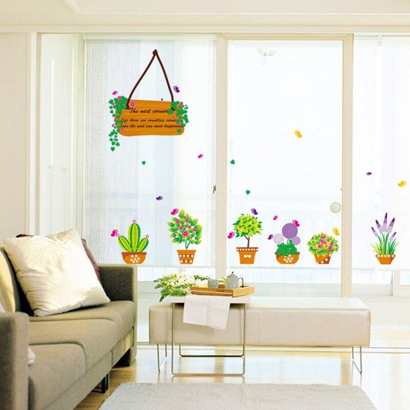 110*95cm DIY Wardrobe wall decoration sticker Wooden sign ...