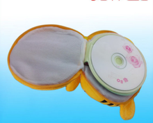 NEW Cartoon tiger Portable 24 Disc Capacity DVD CD Case for Car Media Storage CD Bag -20