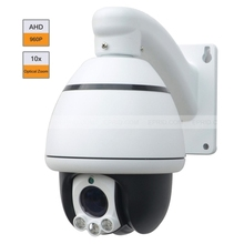 4 inch 960P HD Speed Dome AHD Indoor Camera 10X Zoom 1.3 MP IR PTZ