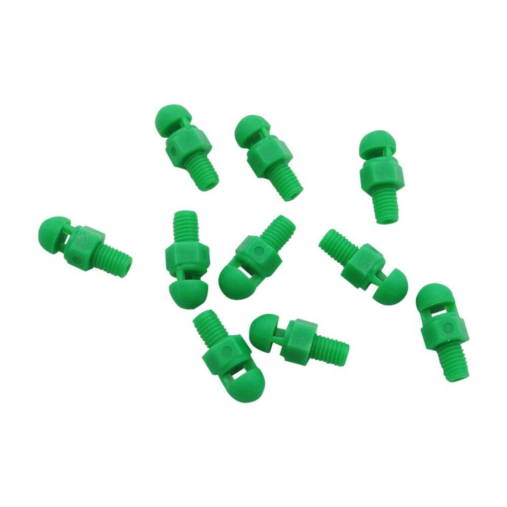 Mini Refractive Atomized Nozzle With Thread 360 Degrees Micro-Sprayers Garden Fruit Trees Atomized Watering 100 Pcs