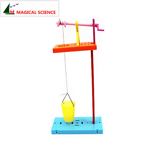 Scientific Experiments Toys Handmade Windlass Well Diy Material Funny Science Discovery Toys Best Gifts For Kids Children