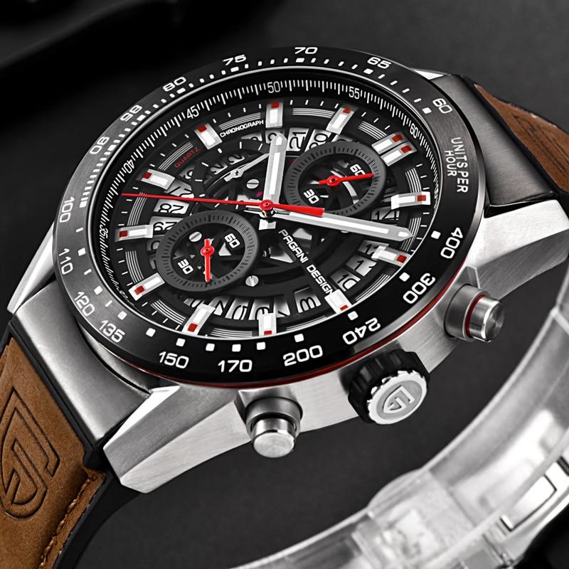 Image 4 - PAGANI DESIGN 2019 mens watches Top Brand Luxury Waterproof Quartz Watch men Sport Military Men's Wrist Watch Relogio Masculino-in Quartz Watches from Watches