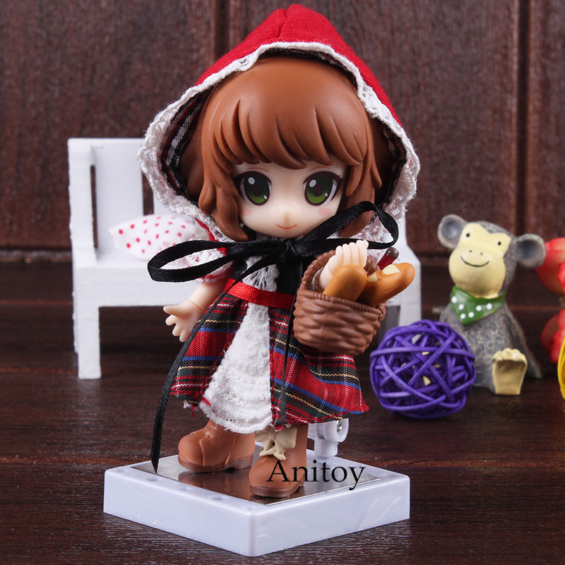 Cu-poche friends Little Red Riding Hood Real Clothes Ver. PVC Action Figure Collectible Model Toy Model Figures Pvc ToysCu-poche friends Little Red Riding Hood Real Clothes Ver. PVC Action Figure Collectible Model Toy Model Figures Pvc Toys
