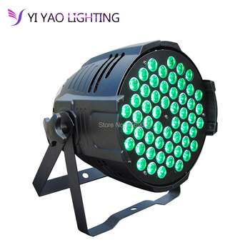 Led Cast aluminum Par Light RGB 3in1 54x3W Disco Wash Equipment DMX 512 Stage Lighting