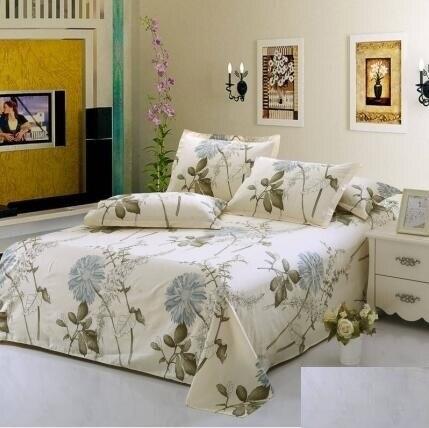 Venda quente de poliéster conjunto de cama queen size capa de edredão set conjunto de folhas de cama