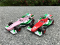 Original cambiadores de color 1:55 francesco bernoulli pixar cars coche de juguete nuevo loose