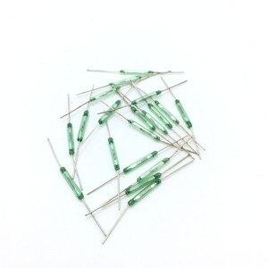Image 5 - 50 ชิ้น/ล็อตสีเขียว reed MKA14103 ปกติเปิดสวิทช์แม่เหล็ก 2*14 มม.ความยาว