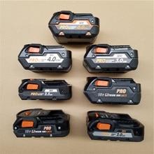 Б/у AEG указывающего нам богатый 18V литиевая Батарея завод 1,5 2,0 2,5 3,0 4,0 5,0