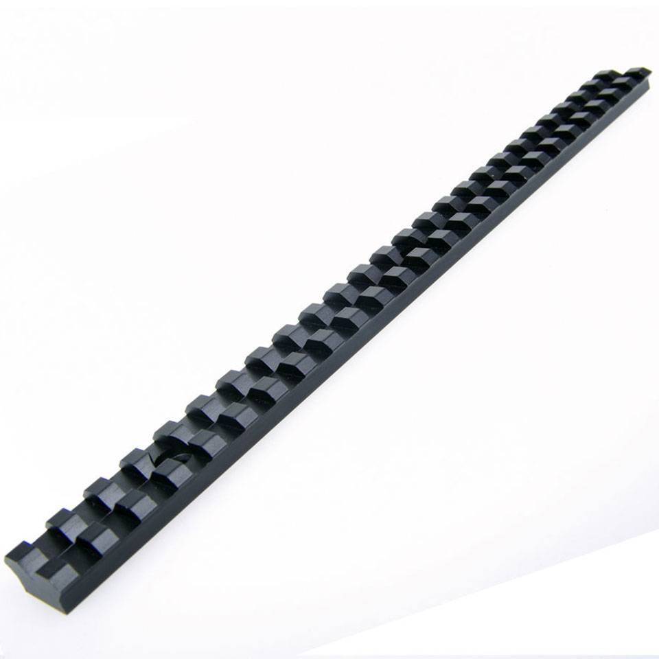 Image 5 - Long 20mm Mount Picatinny Rail with 25 Slots and 257mm Length of Aluminum Alloy for Hunting Rifles B-in Scope Mounts & Accessories from Sports & Entertainment