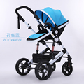 Baby stroller landscape high ultra portable folding shockproof baby hand push the four round of summer and winter children BB ca
