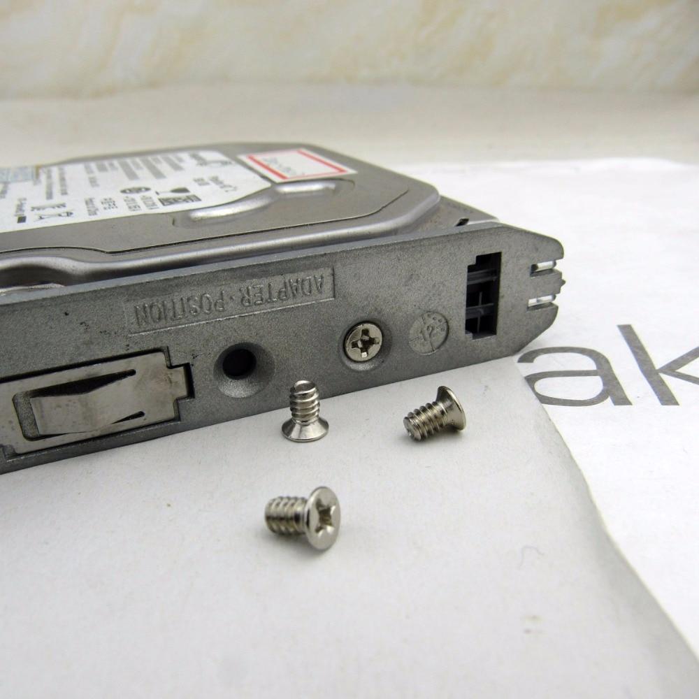 4x Screw 6#-32 for 3.5 HHD hard drive hot swap Caddy Tray Bracke Phillips head