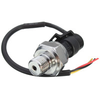 O envio gratuito de alta qualidade transdutor pressão sensor 5 v 0-1.2mpa óleo combustível para gás água ar