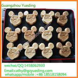 CE approved Mickey Mouse Waffle Maker Mini Ceramic Waffle Making Machine with Custom Plate Breakfast waffle Maker waffle machine
