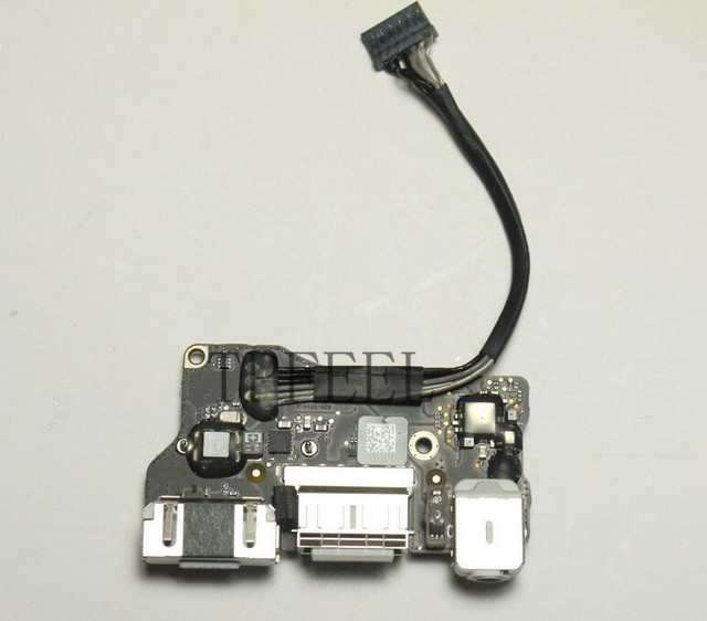 "Power Audio Board USB DC Power jack 820-3214-A For MacBook Air 13.3"" A1466 MD231 MD232 magsafe board 2012 year"