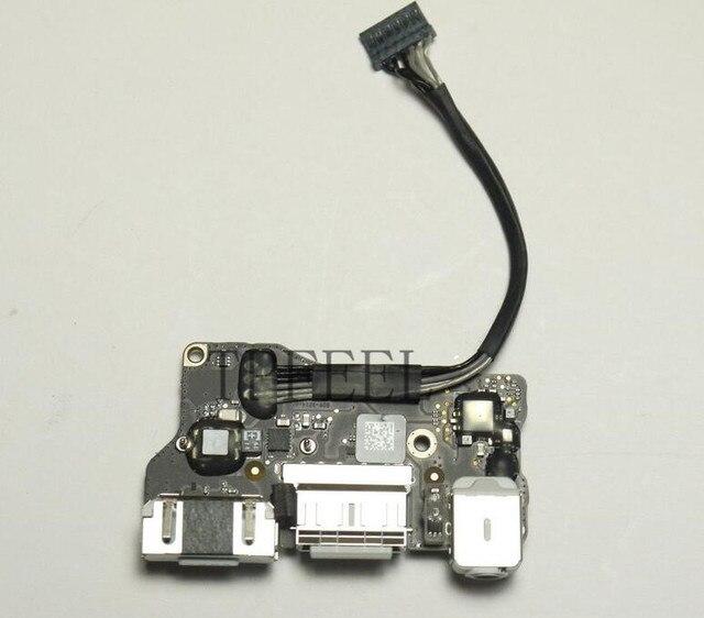 "TPFEEL usb board for MacBook Air 13.3"" A1466 MD231 MD232 Power Audio Board USB DC Power jack 820-3214-A 2012 year"
