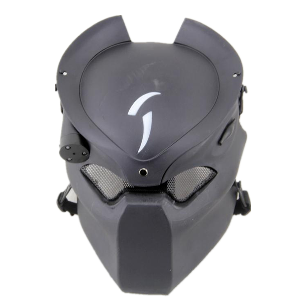 tactical skull face mask military Field Alien vs Predator mask lone wolf mask field CS Infrared Lamp for hunting paintball lone wolf