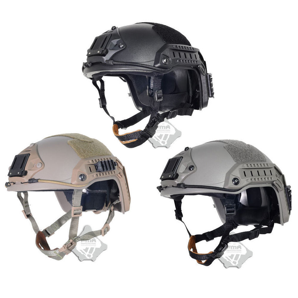 TB-FMA maritime Tactical Protective Helmet ABS For Paintball TB814 BK/DE/FG fast ballistic helmet rapid response tactical helmet mc fg at tan aor1 digital desert bk woodland atfg acu