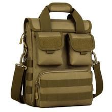 Многофункциональная Военная нейлоновая сумка, водонепроницаемая камуфляжная Мужская сумка А4, сумка на одно плечо, Мужская Дорожная сумка-мессенджер, сумки через плечо