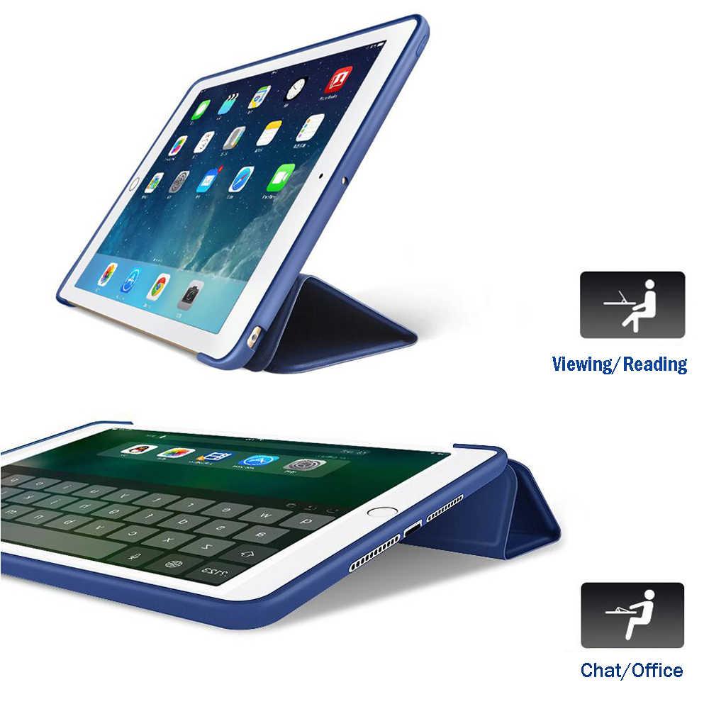 Funda para iPad Air A1475 A1476 para iPad Air 1 Smart Wake Sleep funda de silicona para iPad Air 1 Coque