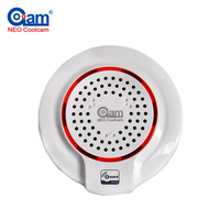Z Wave Wireless Siren Alarm Sensor Compatible With Z Wave Plus Sensor Alarm Home Automation Alarm