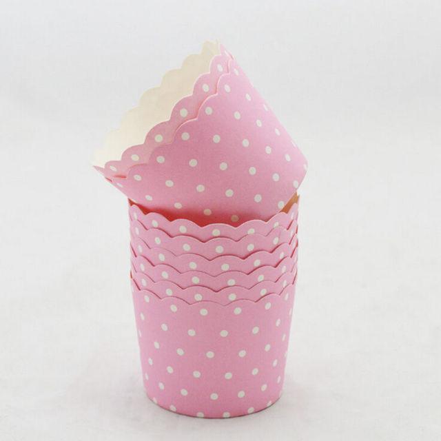 Paper Cake Cup, 50 Pcs/set