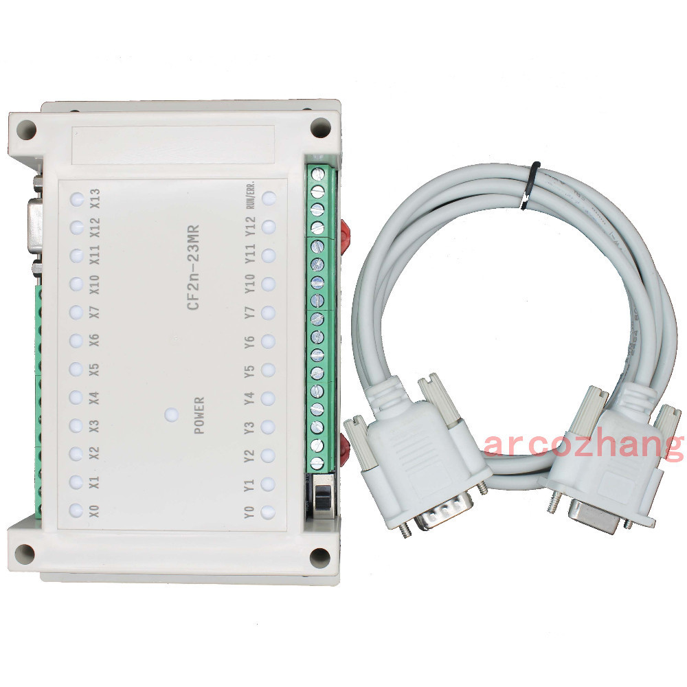 FX2N CF2N 23MR programmable logic controller 12 input 11 relay output plc controller automation controls plc