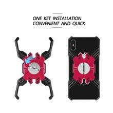 Lüks metal tampon Telefon iPhone için kılıf X 10 XR XS 6 6 s 7 8 Max Alüminyum Zırh iPhone 6 Için krom çerçeve 6 s 7 8 Artı Standı Kılıf