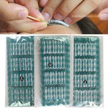160 шт. стержни для завивки накладных ресниц, бигуди для завивки, липкий косметический салонный набор