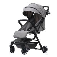 Light weight folding Baby stroller for children 2 in 1 Can sit and lie down Travel system pushchair pram bebek arabasi