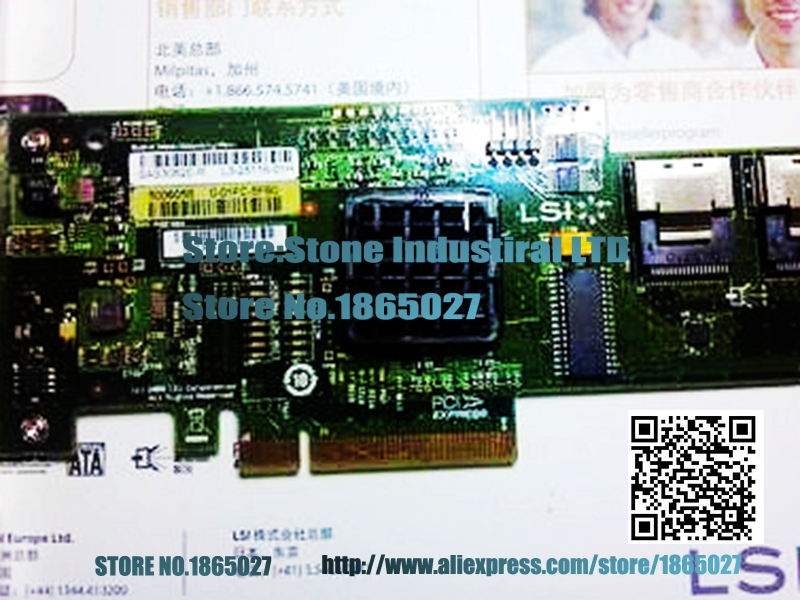 ФОТО LSI 3082E-R SAS / SATA 3GB 8 port array card 100% test