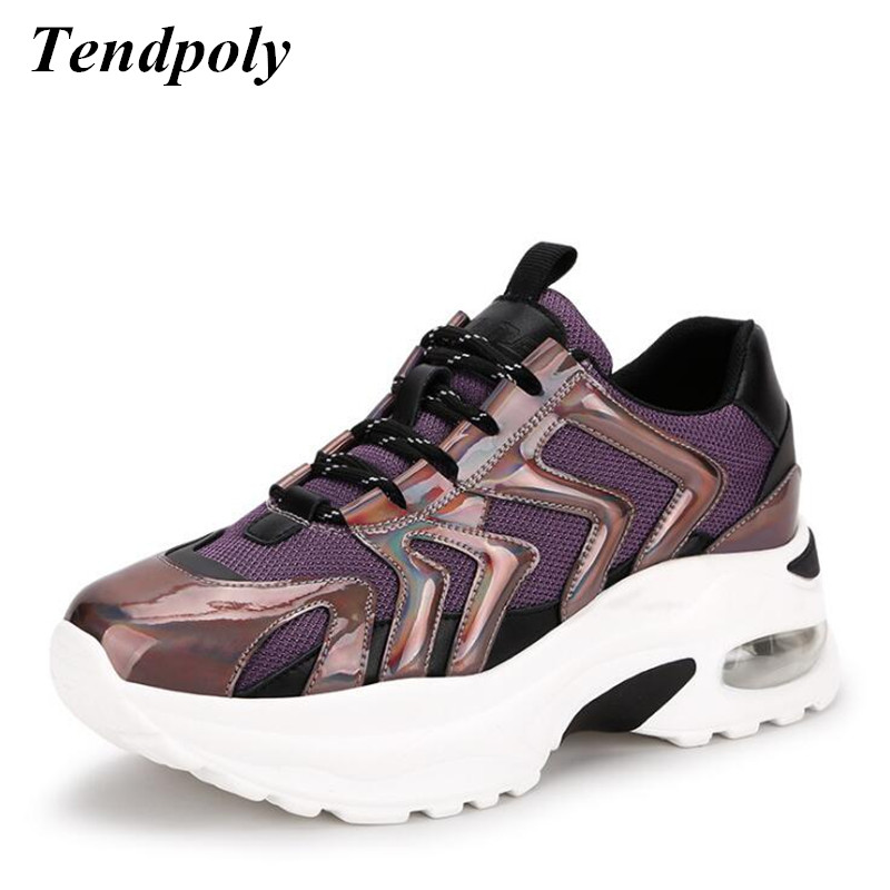 Casual women s shoes 2019 New simple fashionable spring summer Breathable mesh Female sneakers trend Outdoor