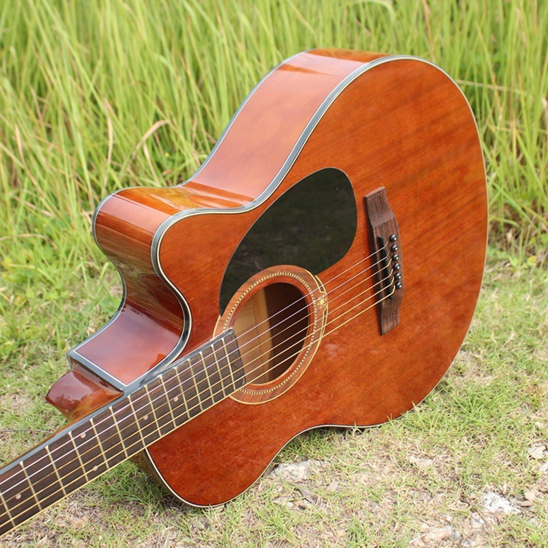 Hot 40-32 guitars 40 inch Acoustic Guitar Rosewood Fingerboard guitarra Musical Instruments with guitar strings